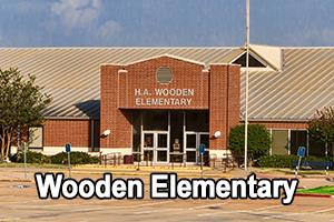 front view of Wooden Elementary