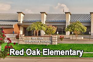 front view of Red Oak Elementary