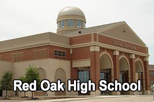 front view of Red Oak High School