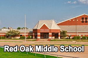 front view of Red Oak Middle School
