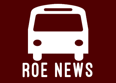 BUS WITH ROE NEWS