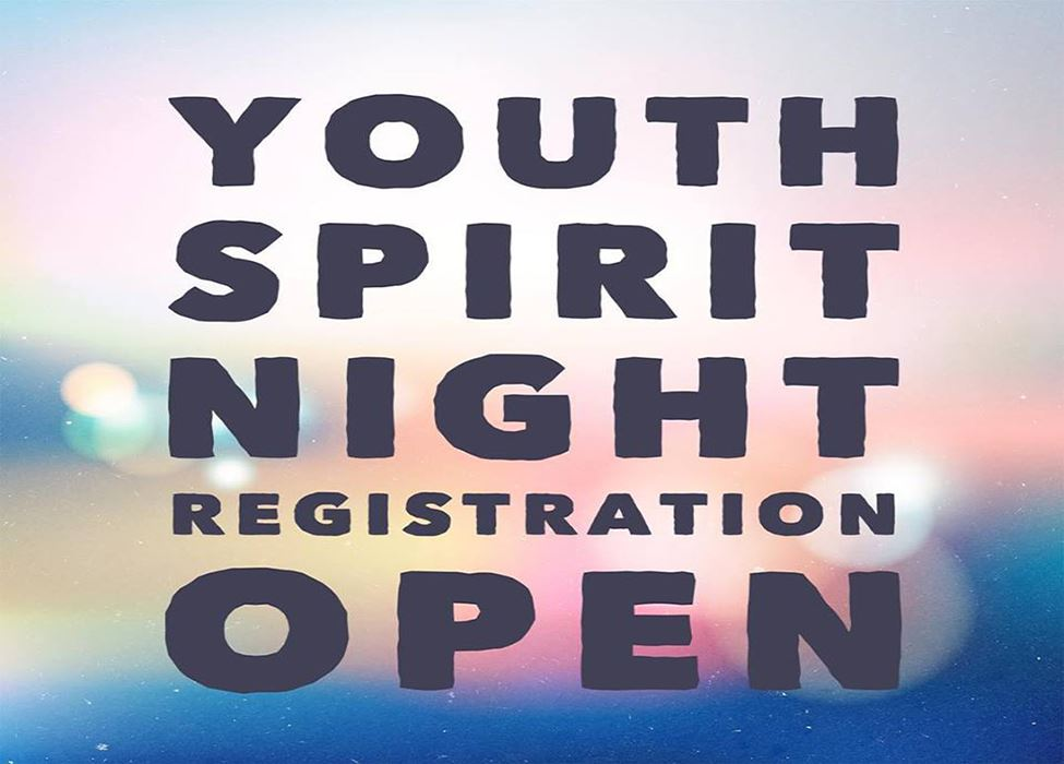 Youth Spirit Night registration open