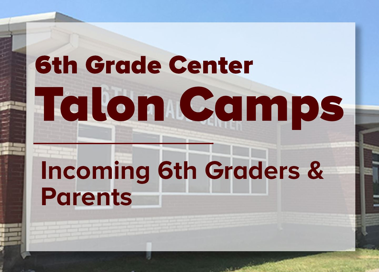 Talon Camps 2019