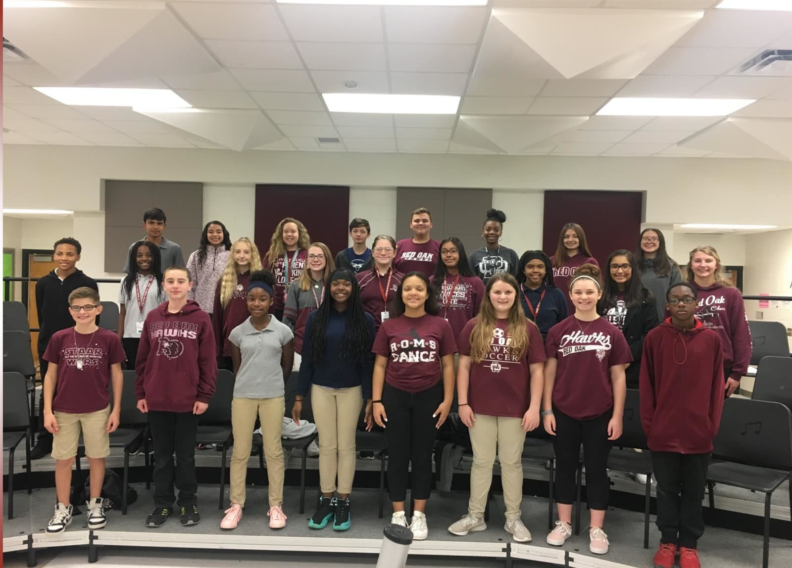ROMS Students Make All-Region Choir