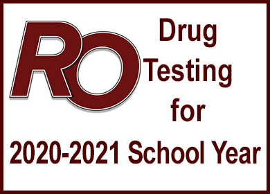 Drug Testing for 2020-2021 School Year