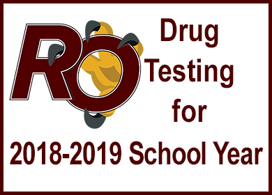 Extracurricular Drug Testing for 2018-2019 School Year