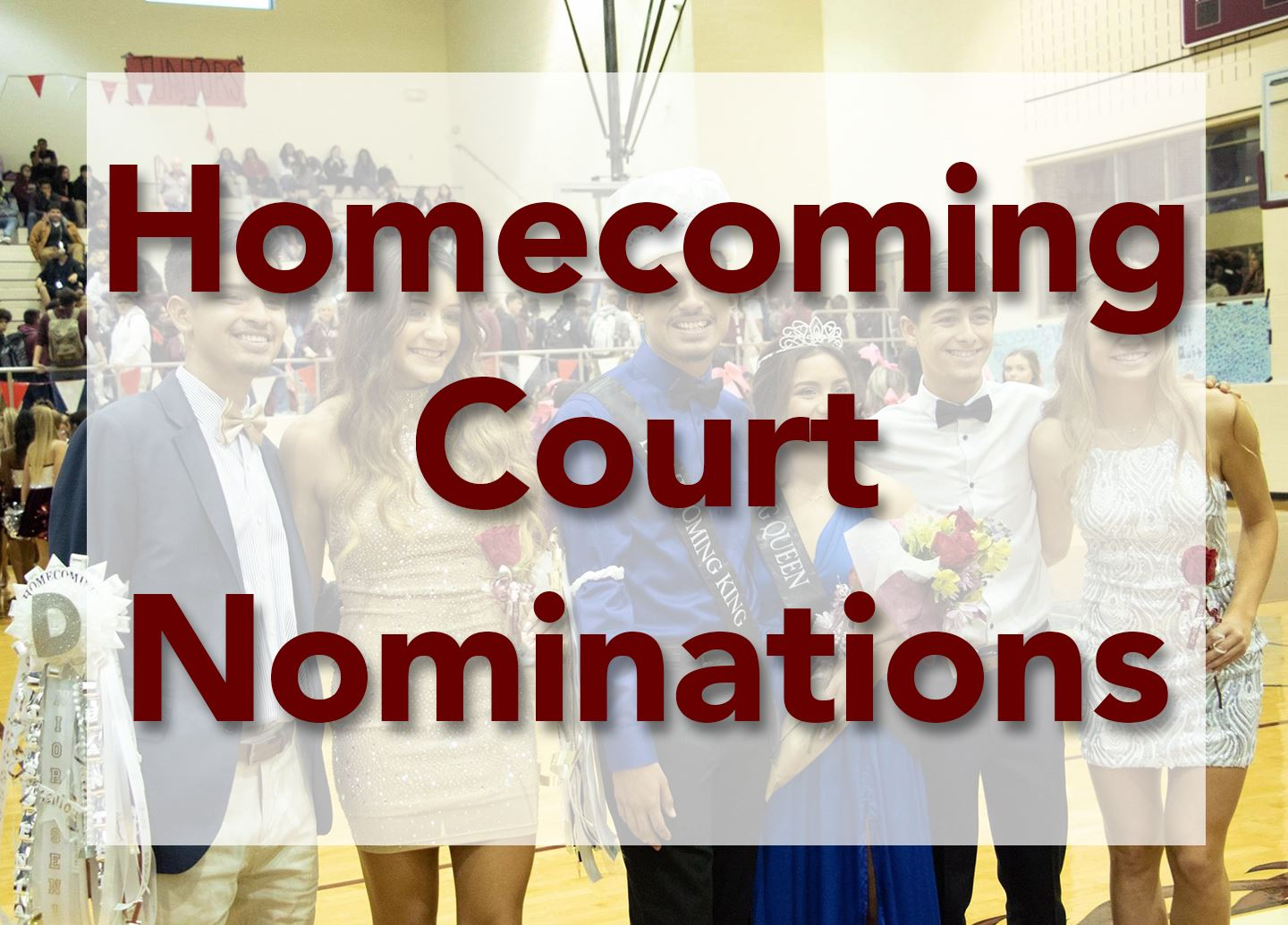 Homecoming Court Nominations