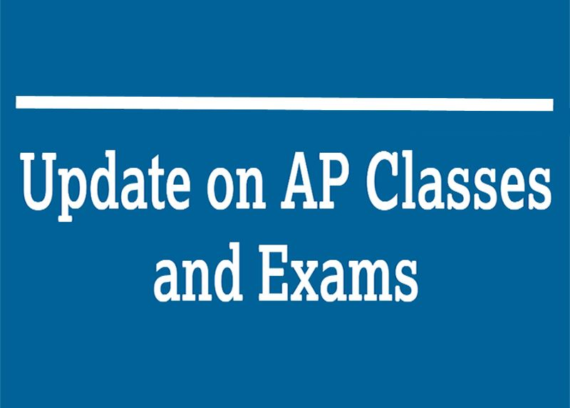Update to AP classes & exams