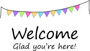 Welcome -Glad you're here!