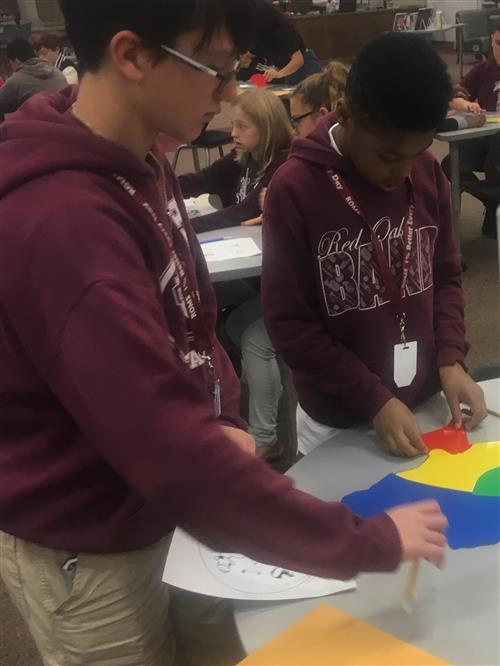 Partner map activity