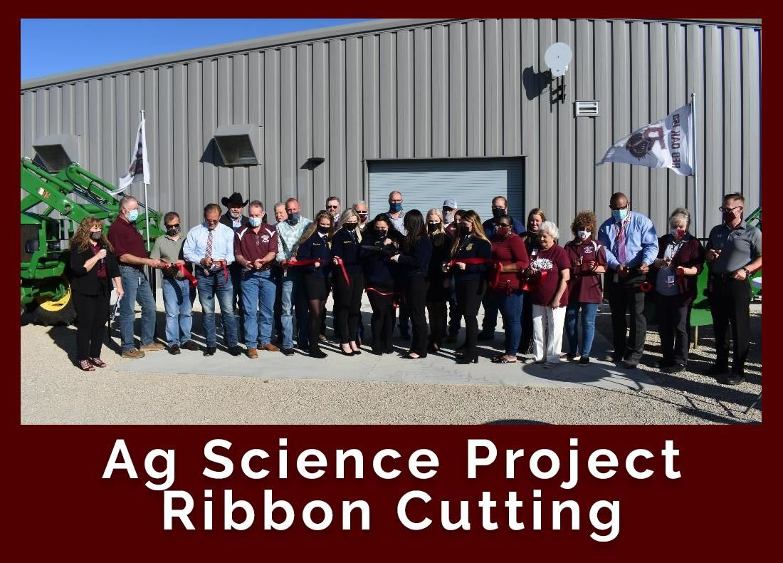 Ag Science Project Center Ribbon Cutting