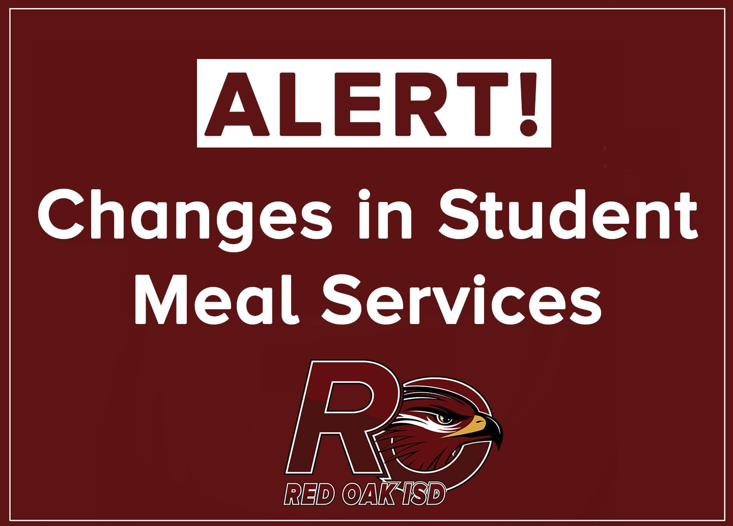 ROISD changes student meal service