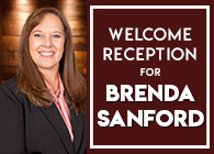 Welcome Reception for Brenda Sanford