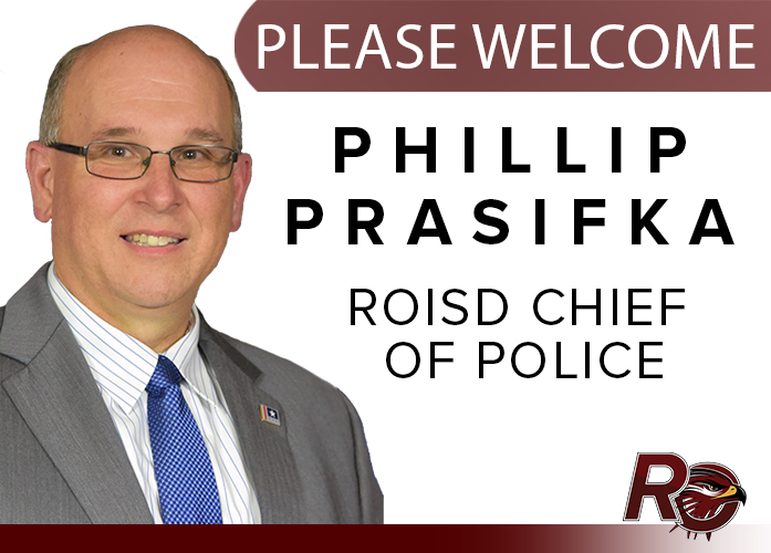 ROISD announces new district Chief of Police