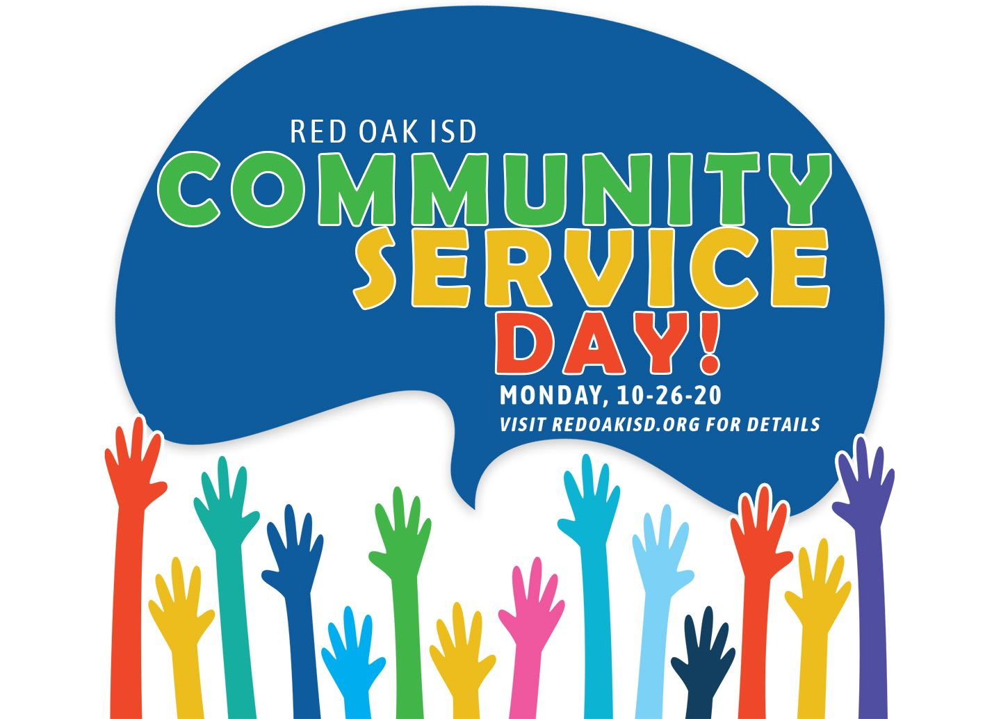 ROISD Community Service Day on Oct. 26, 2020