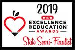 HEB Excellence in Education Award-State Semi-Finalist