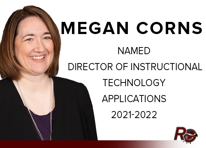 Megan Corns named Director of Instructional Technology Applications for 2021-2022