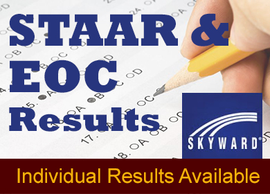 STAAR and EOC individual test results are available