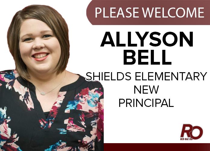Please Welcome Allyson Bell, new principal for Shields Elementary