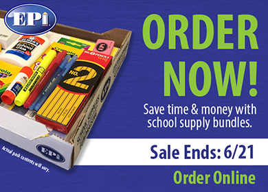 Order Elementary Supplies online by June 21