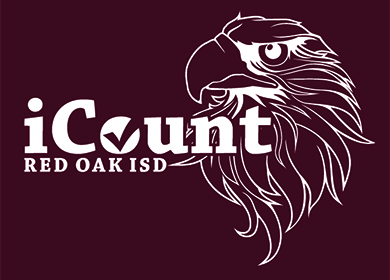 iCount logo with hawk