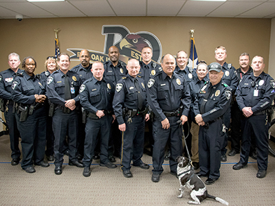 ROISD Police Department Officers and K-9