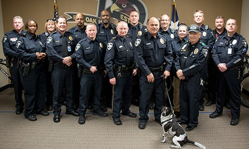 ROISD Police Department group photo