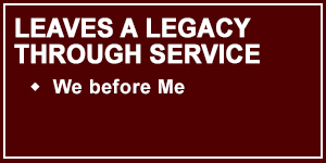 Talon 4 is Leaves a Legacy through Service - We before Me